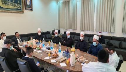 فضيلة الشّيخ موفق طريف يجتمع بنائب وزير الدّاخليّة