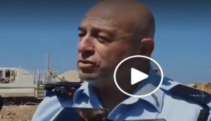 فيديو - ضابط - الشرطيان تعرضا للدهس خلال تفقدهما ورشة